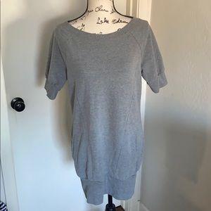 Express Gray Sweatshirt Tunic/Dress